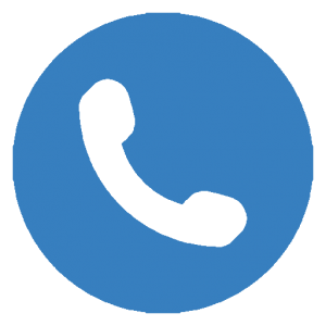 contact page phone icon blue